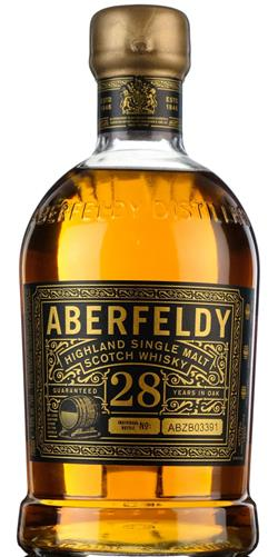 The Dramble's tasting notes for Aberfeldy 28 year old